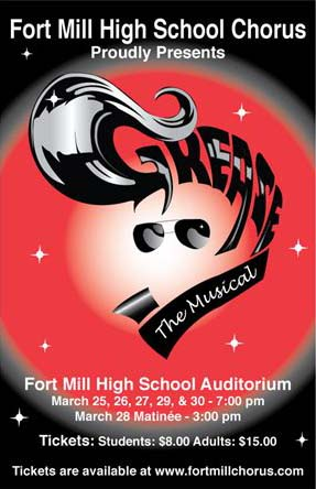 Grease Presented by Fort Mill HS Chorus