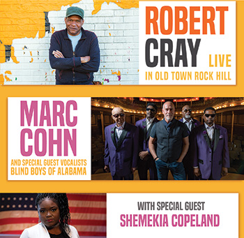 The Robert Cray Band & Marc Cohn featuring guest vocalists the Blind Boys of Alabama and Special Guest Shemekia Copeland